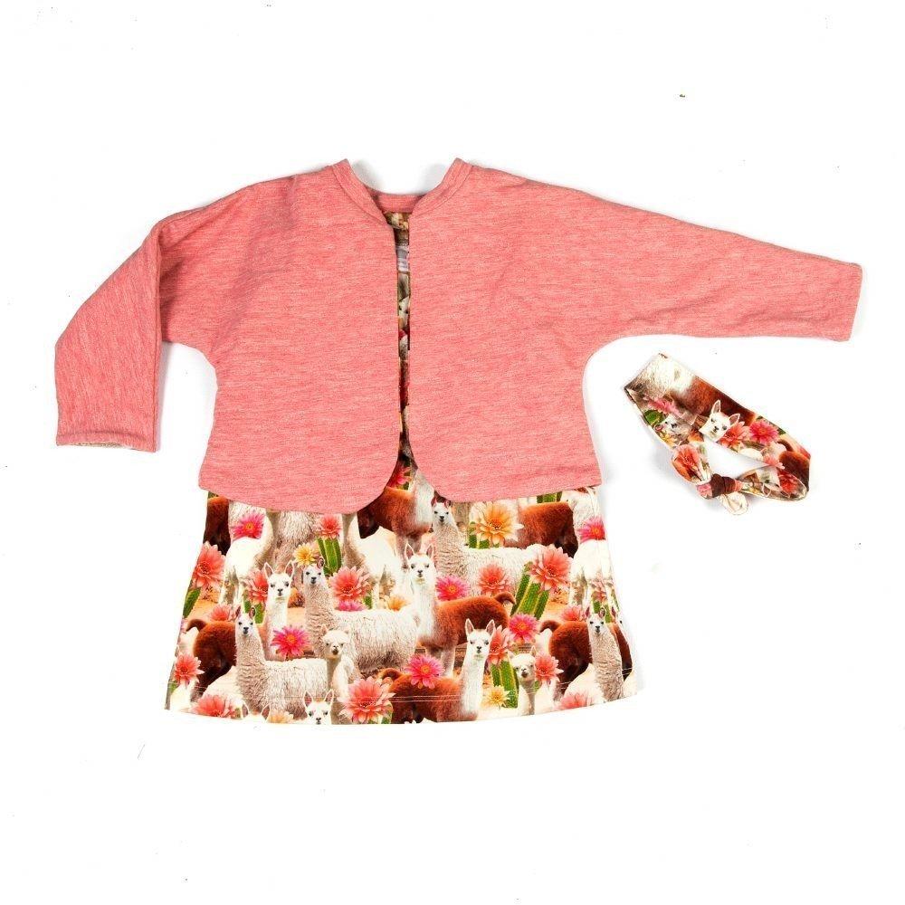 kleurrijk-babysetje-vestje-jurkje-haarband