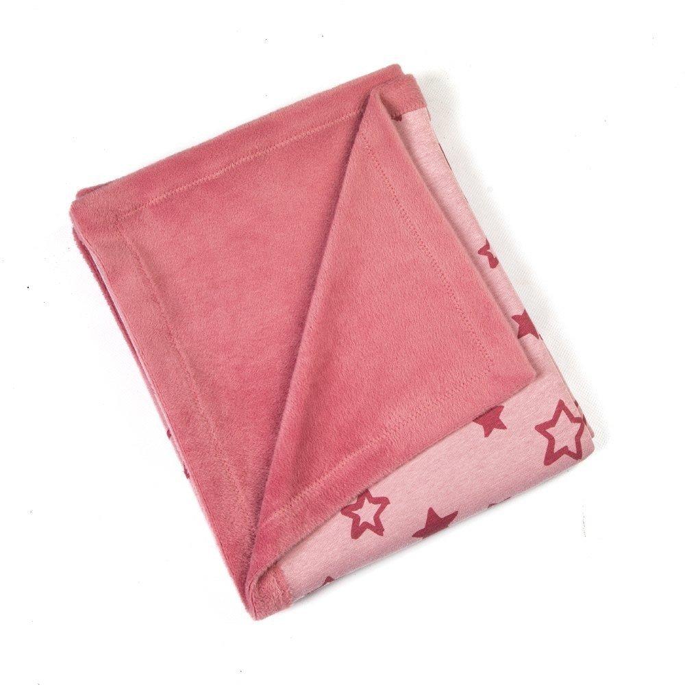 fleece-dekentje-roze-sterren-motief
