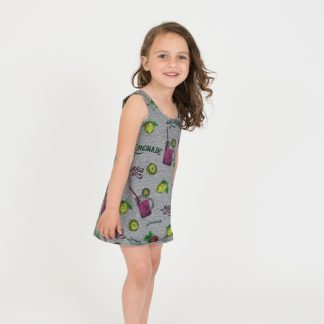 girl-summer-dress-gray-motif