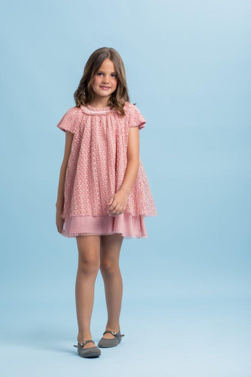 meisje-jurkje-oud-roze-dubbel-laags-voile-onderjurkje