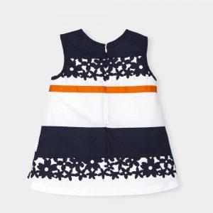 jurkje-blauw-wit-oranje-lint