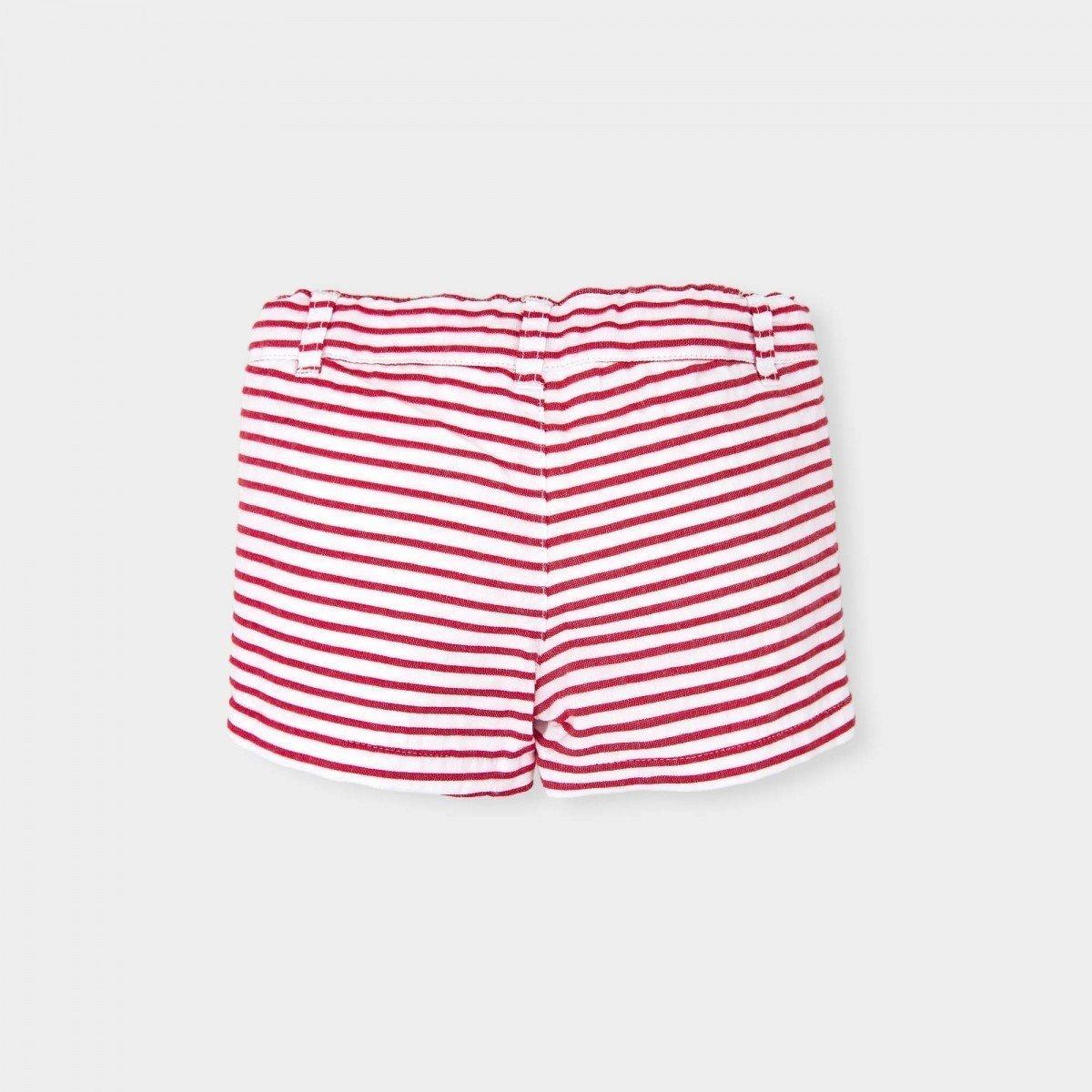 short-plissè-rood-wit-gestreept