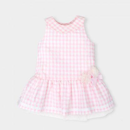 geruite-roze-jurk-onderrok-voile-motief