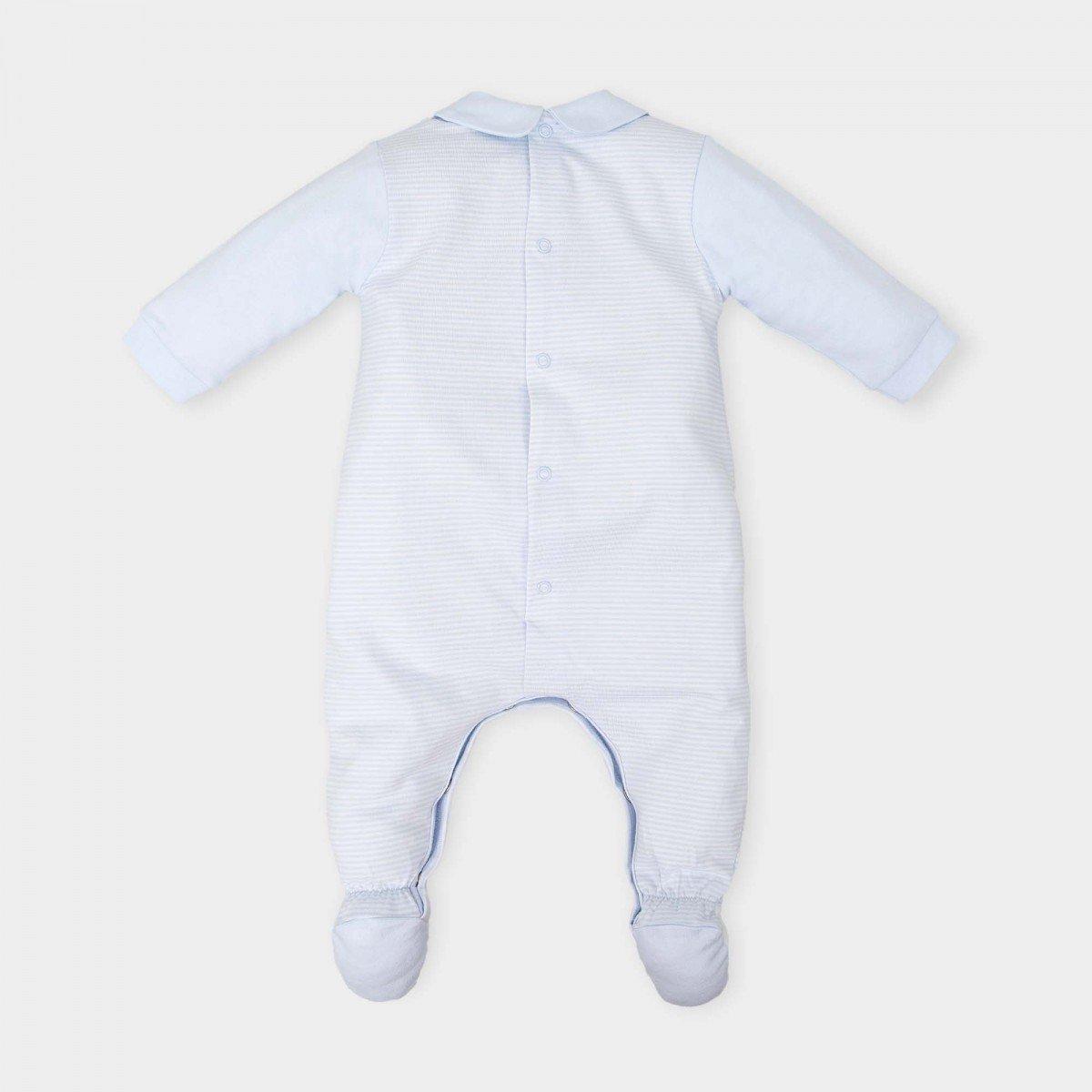 1-delige-pyjama-lichtblauw-gestreept