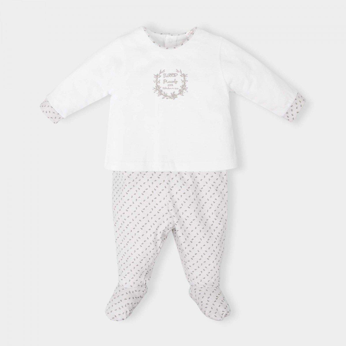 2-delige-wit-pyjama-motief-grijs