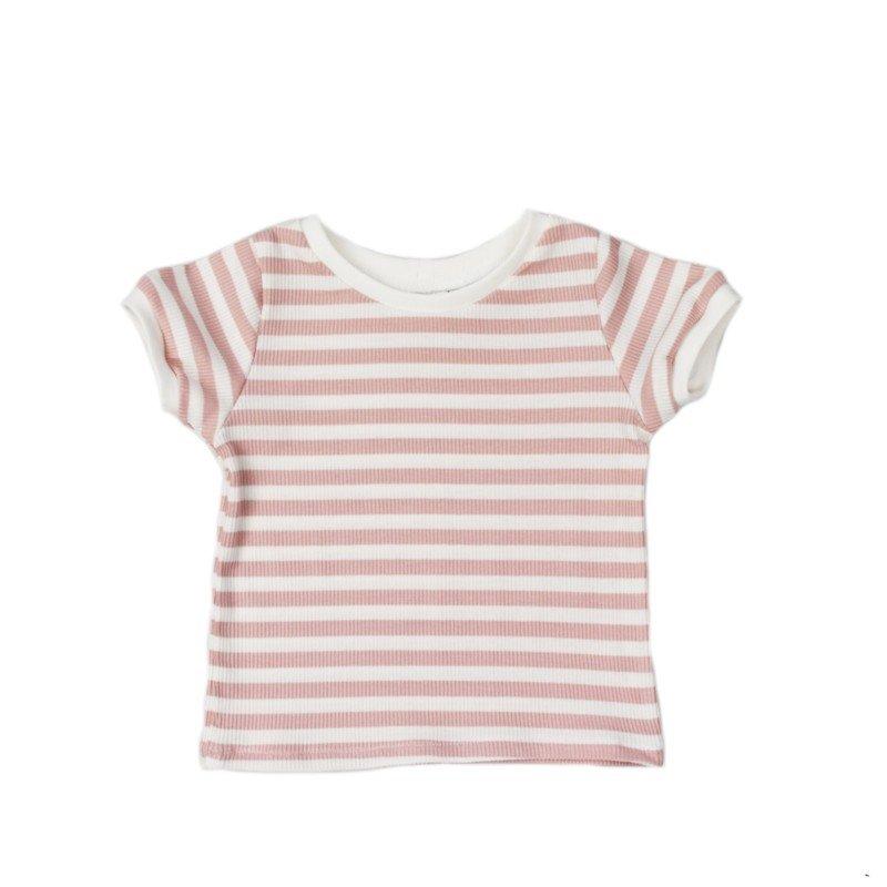 baby-shirt-striped-pink