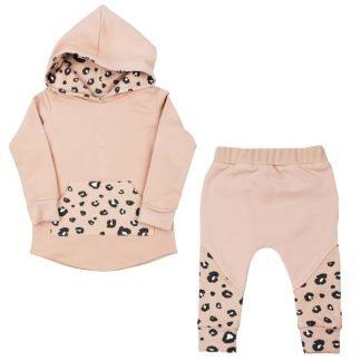hoodie-pakje-pink-met-print