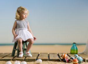 Jurkje met glitter motief kinder mode 2019