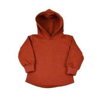 comfortabele-hoodie-met-kap-terracotta