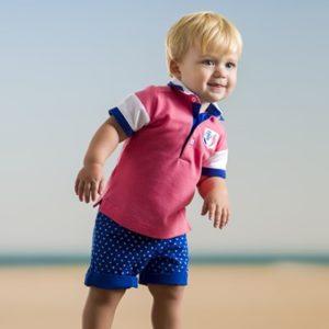 Roze polo shirt kindermode 2019