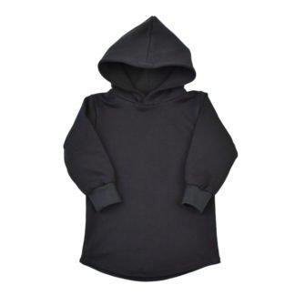 hoodie-jurkje-capuchon-zw