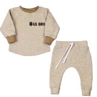 baby-beige-jogging-pakje-Lil Bro