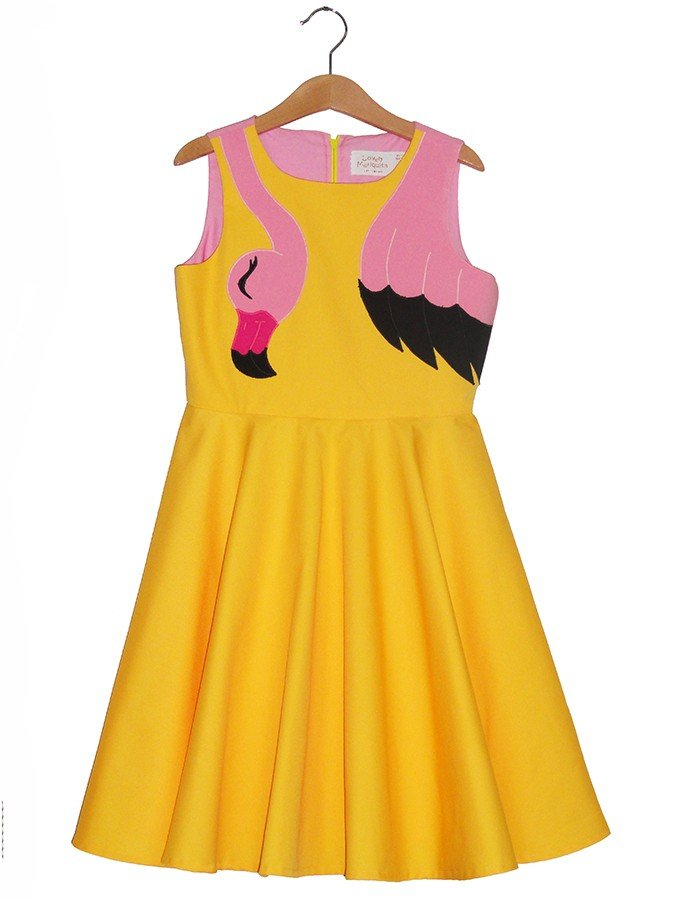 swan-yellow-dress