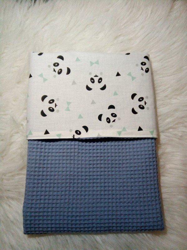 baby-wieg-dekentje-blue-panda
