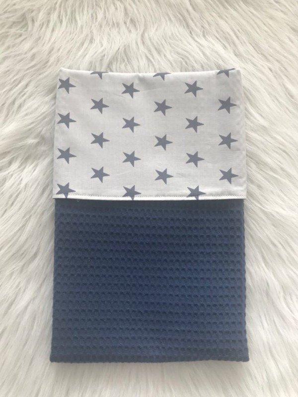 baby-wieg-dekentje-blue-stars
