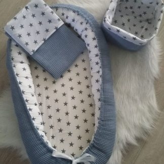 babynest-set-blue-stars