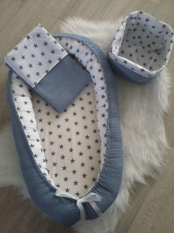 babynest-set-blue-stars