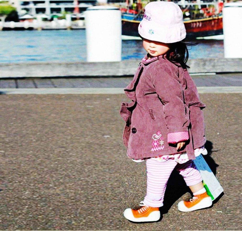 kinderschoentjes-sneakers-oranje