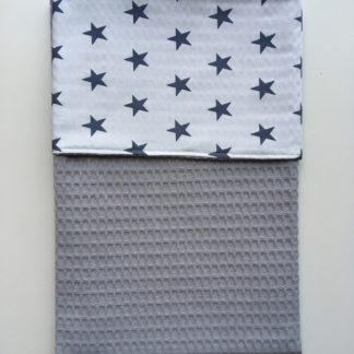 baby-deken-grijs-met-sterren